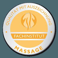 Qualitätssiegel - Fachinstitut Massage